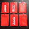 bao thẻ pu màu đỏ 2 túi